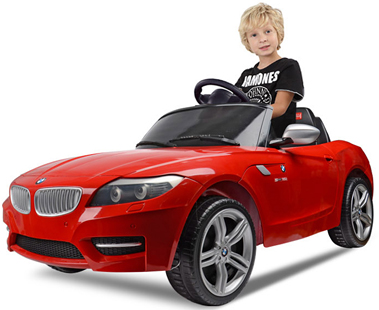 bmw z4 cabriolet ride on elektro kinderauto kinderfahrzeug kinder elektroauto rt. Black Bedroom Furniture Sets. Home Design Ideas