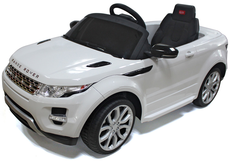 Convertible Car  Volt Battery Powered Ride On White