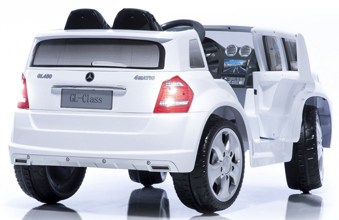 mercedes benz gl450 suv 12v kinderauto kinderfahrzeug kinder elektroauto weiss ebay. Black Bedroom Furniture Sets. Home Design Ideas
