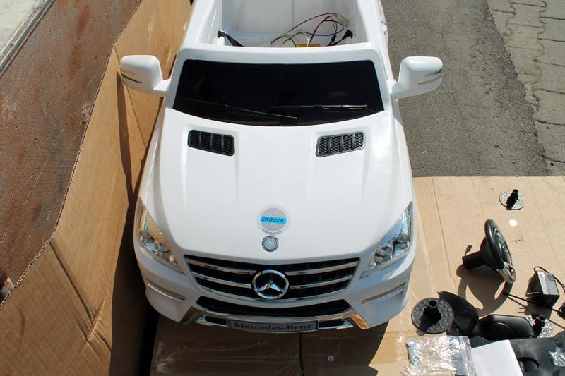 crooza mercedes benz ml 305 4matic kinder elektroauto kinderauto kinderfahrzeug montageanleitung. Black Bedroom Furniture Sets. Home Design Ideas