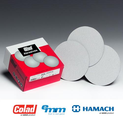 Abrasives Plus Schleifscheiben K/örnung P120 Aluminiumoxid 25 St/ück 200 mm selbstklebend