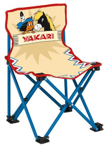 john yakari kid s klappstuhl stuhl kinderstuhl camping campingstuhl gartenstuhl ebay. Black Bedroom Furniture Sets. Home Design Ideas