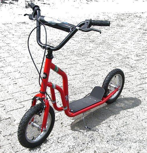xxl roller tretroller scooter mit bremse sonderaktion ebay. Black Bedroom Furniture Sets. Home Design Ideas