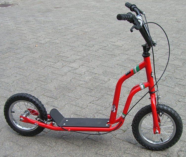 xxl roller tretroller scooter mit bremse sonderaktion. Black Bedroom Furniture Sets. Home Design Ideas