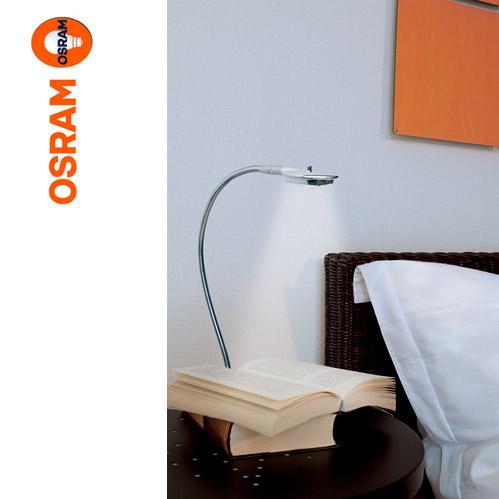 osram led table light oval flexleuchte reading lamp table lamp bedside lamp ebay. Black Bedroom Furniture Sets. Home Design Ideas