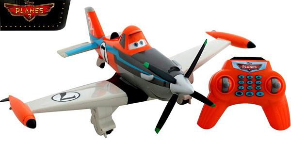 Spielzeugautos Disney Planes Flugzeug Dusty Ferngesteuert Elektrisch spricht und fährt