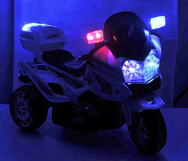 polizei sticker in deutsch elektro motorrad kindermotorrad. Black Bedroom Furniture Sets. Home Design Ideas