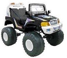 crooza 12V Elektro Kinderauto Kinderfahrzeug Kinder Elektroauto 4x4 ALLRAD Jeep