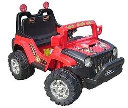 crooza 12V Elektro Kinderauto Kinderfahrzeug Kinder Elektroauto Jeep