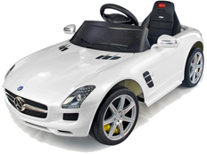 crooza 12V Elektro Kinderauto Kinderfahrzeug Kinder Elektroauto mp3 Roadster cabriolet Mercedes Benz SLS AMG 6.3